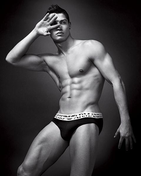 Cristiano Ronaldo for Armani SS10 campaigns