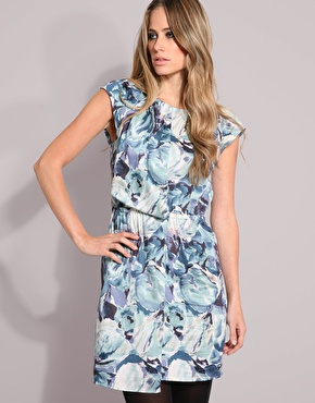 Bargain Buy: Warehouse Cloud Print Dress