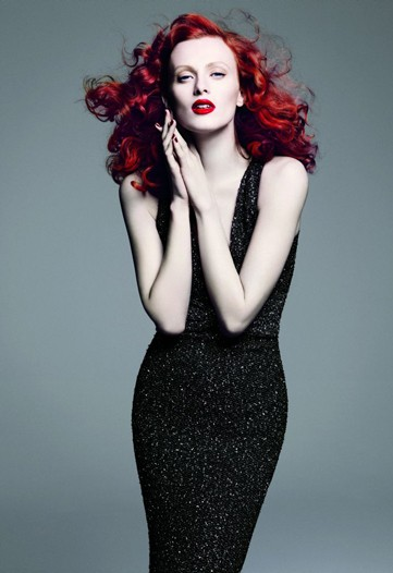 Karen Elson replaces Angelina at St John