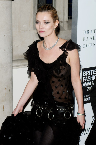 London stays home for Kate Moss