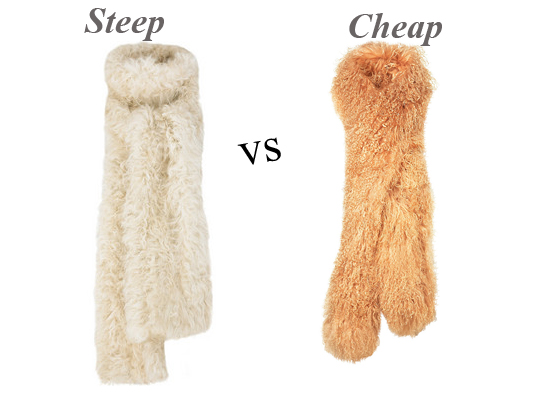 Steep vs Cheap: Luxurious Lambswool