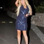 Lindsay Lohan's leggings expansion