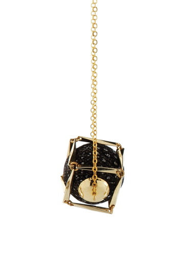 Lunchtime buy: Lucy Hutchings feather cube pendant