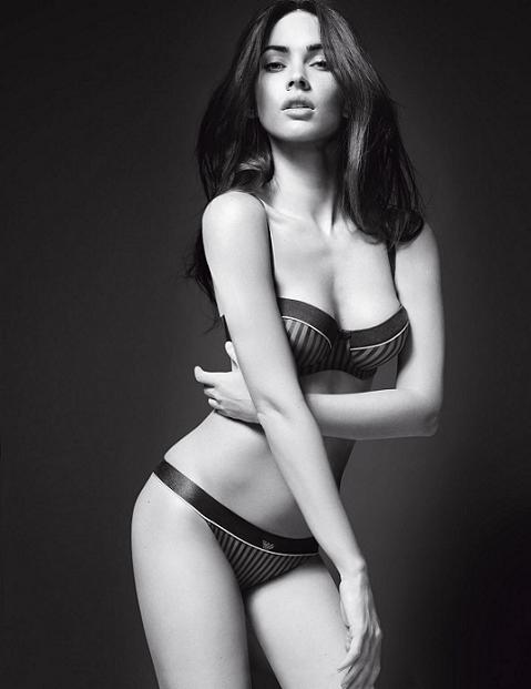 Megan Fox in Armani's SS10 campaigns