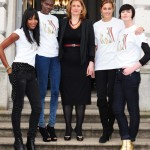 Charity catwalk for Haiti: Naomi Campbell joins Sarah Brown
