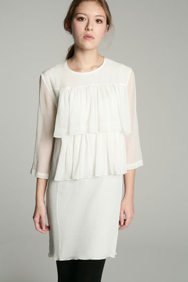 Lunchtime buy: Peter Jensen chiffon frill dress