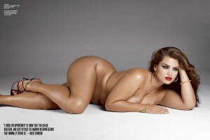 V magazine plus-size