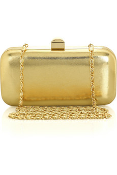 Lunchtime buy: Halston Heritage Leather Box Clutch