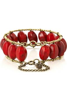 Lunchtime buy: Isabel Marant Howlite stone bracelet