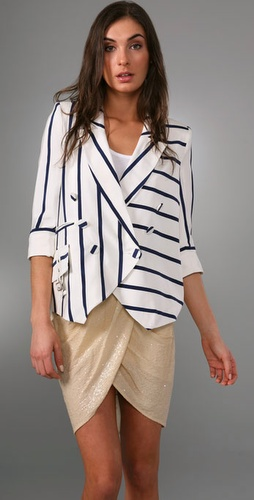 Lunchtime buy: Madison Marcus Infinite Striped Jacket