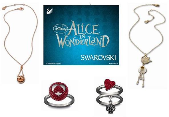 Swarovski meets Alice in Wonderland for Disney