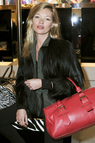 Kate Moss launches Longchamp