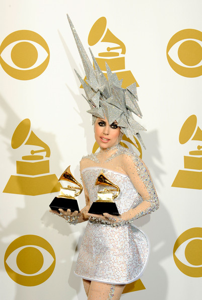 lady gaga 52nd Grammy Awards: Lady Gaga wears bespoke Armani Prive