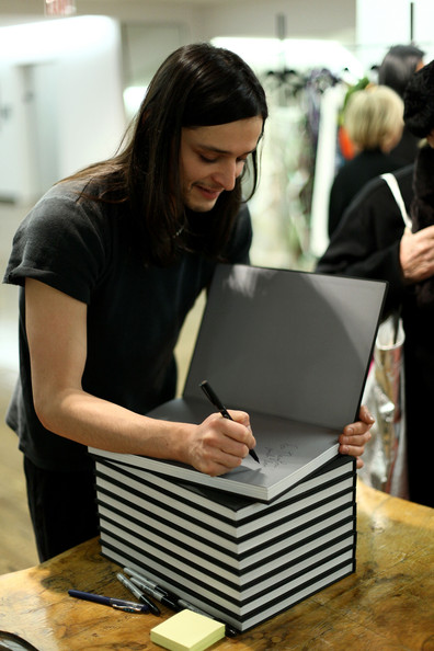 Olivier Theyskens' book launch