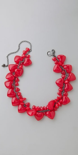 Lunchtime buy: Tom Binns Red Queen necklace