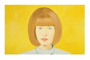 Anna Wintour by Alex Katz