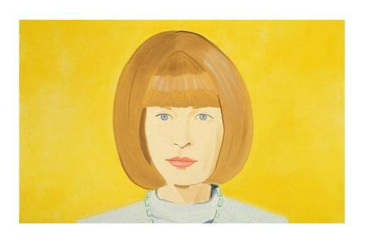 Anna Wintour's portrait