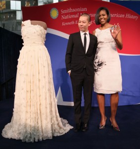 Jason Wu and Michelle Obama