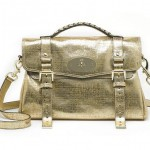 Mulberry gold Alexa exclusively at Selfridges