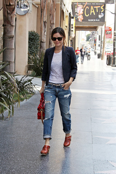 Rachel Bilson on wardrobe space and self-styling