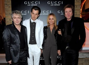 Nick Rhodes, Mark Ronson, Frida Giannini, Simon Le Bon