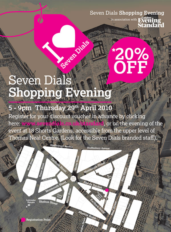 Seven Dials Shopping Evening