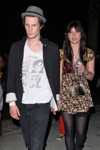 Daisy Lowe and Matt Smith (Doctor Who)