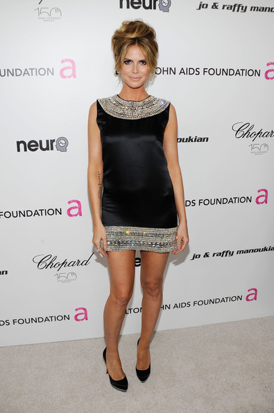 Heidi Klum loves being naked