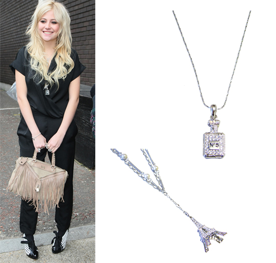 Pixie Lott in Preshhus Jewellery