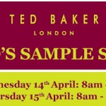 Grab your diary: Ted Baker Sample Sale