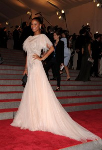 MET Ball 2010: Joy Bryant in Marchesa