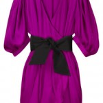 Lunchtime buy: Acne Lou Lou wrap-front satin dress