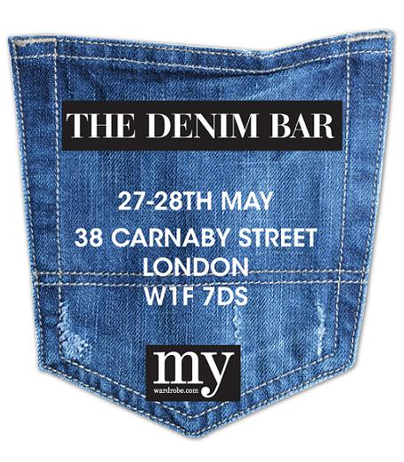 my-wardrobe.com launches Denim Bar