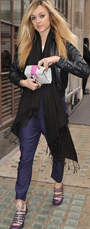 Get Fearne Cotton's look with the Violet May BlackBerry purse
