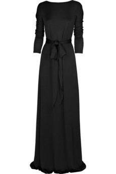 Lunchtime buy: Halston jersey open-back gown