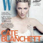 Cate Blanchett covers W magazine