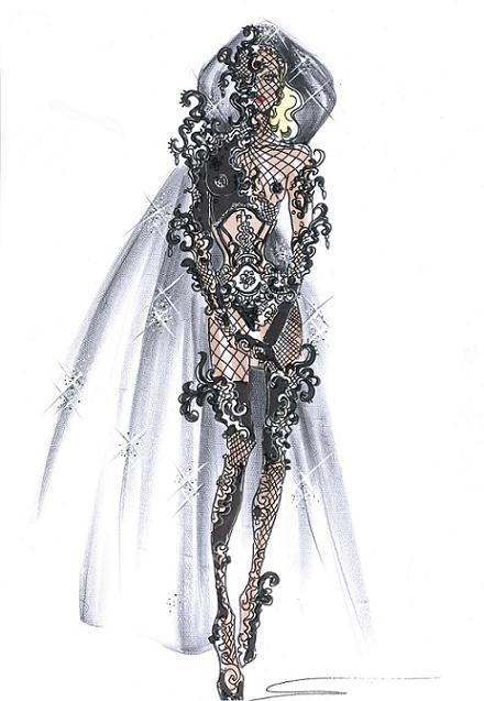 Giorgio Armani designs Lady Gaga's American Idol outfit