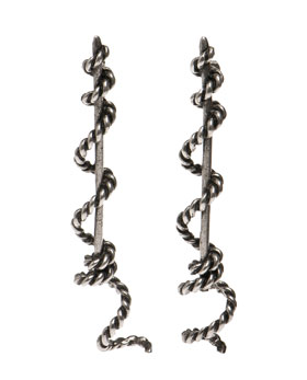Lunchtime buy: Pamela Love winding rope earrings