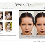 Topshop make-up launches online makeovers
