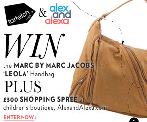 Win a Marc by Marc Jacobs tote and a shopping spree with AlexandAlexa