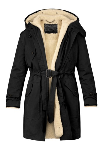 Burberry designs coat for Colette