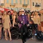 Karl Lagerfeld unveils film in Cannes