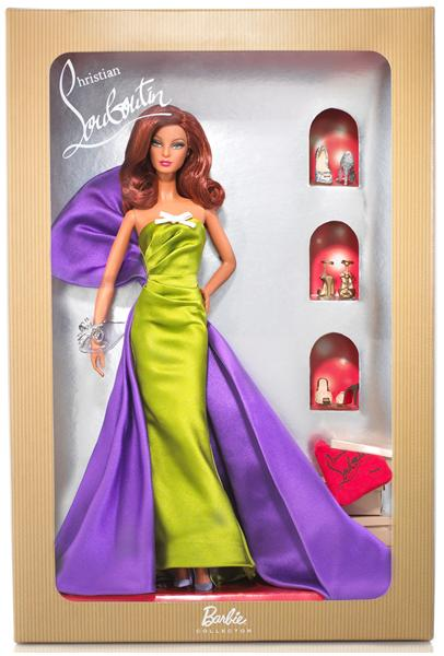 Win a Christian Louboutin Anemone Barbie!