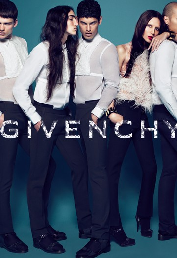 Riccardo Tisci uses transsexual model for Givenchy