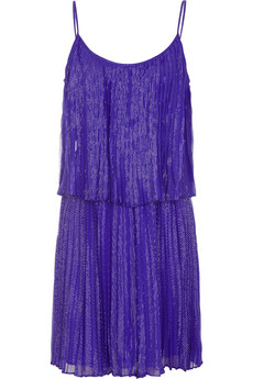 Lunchtime buy: Halston Heritage silk-chiffon blend dress