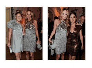 Jennifer Lopez & Friday Giannini; Frida Giannini & Salma Hayek