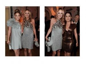 Jennifer Lopez & Friday Giannini; Frida Giannini & Salma Hayek