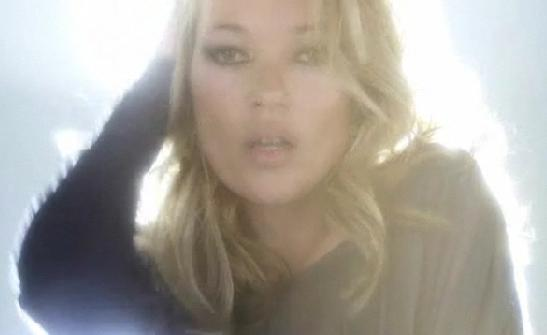 Kate Moss dances in her new Topshop collection