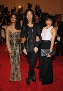 M.I.A., Alexander Wang and Zoe Kravitz