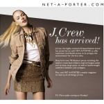J.Crew joins Net-a-Porter.com